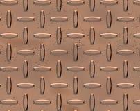 Fundo de cobre do rebite ilustração stock