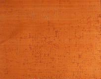 Fundo de cobre Textured Fotografia de Stock