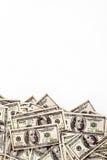 Fundo de $ 100 com espaço para o texto Imagens de Stock Royalty Free