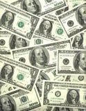 Fundo de contas do dólar americano Fotografia de Stock