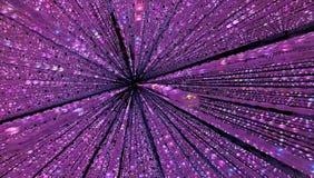 Fundo de Coral Pink de Dots Light ilustração do vetor