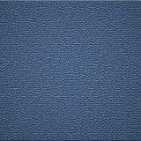 Fundo de couro azul Imagens de Stock