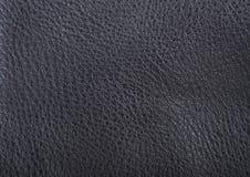 Fundo de couro cinzento da textura Foto de Stock
