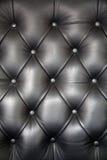 Fundo de couro do teste padrão de Upholstery Foto de Stock