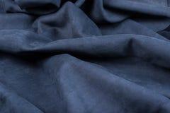 Fundo de couro enrugado close-up Fotografia de Stock Royalty Free