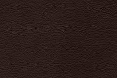 Fundo de couro real da cor de Brown, close up do couro genu?no fotografia de stock