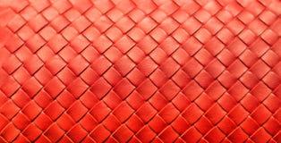 Fundo de couro tecido Fotografia de Stock