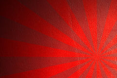 Fundo de couro vermelho Imagens de Stock