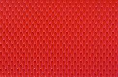 Fundo de couro vermelho da textura Imagem de Stock Royalty Free