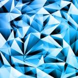 Fundo de cristal abstrato Fotografia de Stock