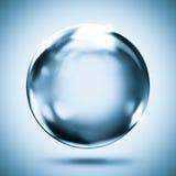 Fundo de cristal da reflexão da esfera ilustração stock
