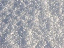 Fundo de cristal da superfície da neve Fotografia de Stock