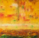 Fundo de cursos da pintura de óleo Fotos de Stock