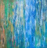 Fundo de cursos da pintura de óleo Imagem de Stock