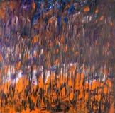 Fundo de cursos da pintura de óleo Fotografia de Stock