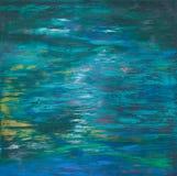 Fundo de cursos da pintura de óleo Fotografia de Stock Royalty Free