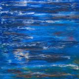 Fundo de cursos da pintura de óleo Foto de Stock