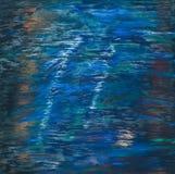 Fundo de cursos da pintura de óleo Imagens de Stock Royalty Free