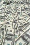 Fundo de dólares das notas de banco Fotos de Stock Royalty Free