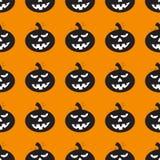 Fundo de Dia das Bruxas com abóboras pretas Imagem de Stock Royalty Free