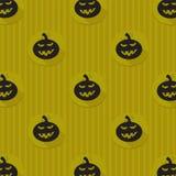 Fundo de Dia das Bruxas com abóboras pretas Imagem de Stock
