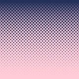 Fundo de diamantes azuis de tamanhos diferentes em um campo cor-de-rosa ilustração do vetor