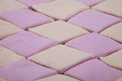 Fundo de doces revestidos do marshmallow do açúcar Imagem de Stock Royalty Free