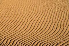 Fundo de dunas de areia Fotos de Stock