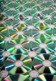Fundo de DVD foto de stock