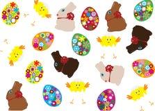 Fundo de Easter ilustração royalty free