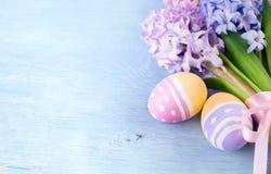Fundo de Easter com copyspace Imagem de Stock
