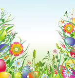 Fundo de Easter   Fotos de Stock Royalty Free