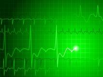 Fundo de EKG Fotos de Stock