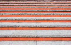 Fundo de escadas concretas Fotografia de Stock
