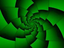 Fundo de espiralamento abstrato Imagens de Stock