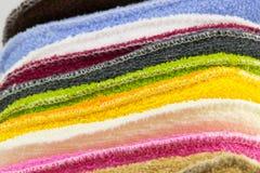 Fundo de esponjas coloridas Fotografia de Stock Royalty Free