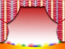 Fundo de estágio Imagem de Stock
