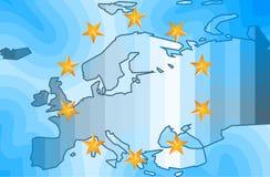 Fundo de Europa Imagens de Stock