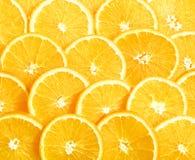 Fundo de fatias amarelas frescas do limão do montão Foto de Stock Royalty Free