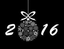 Fundo de 2016 feriados Imagem de Stock Royalty Free