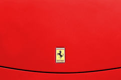 Fundo de Ferrari Fotos de Stock
