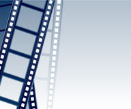 Fundo de Filmstrip Fotografia de Stock Royalty Free