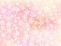 Fundo de flores cor-de-rosa ilustração do vetor