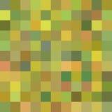 Fundo de formas geométricas Teste padrão de mosaico colorido Fundo quadrado retro Foto de Stock