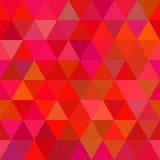 Fundo de formas geométricas Teste padrão de mosaico colorido T retro Foto de Stock Royalty Free