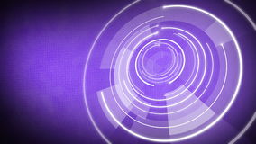 Fundo de giro 4k do globo do círculo ilustração royalty free