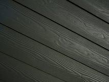 Fundo de Gray Black Diagonal Wood Pattern fotos de stock royalty free