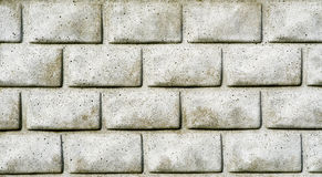Fundo de Grey Brick Wall Seamless sujo Imagem de Stock