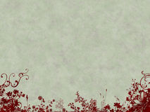Fundo de Grunge com flores Imagem de Stock