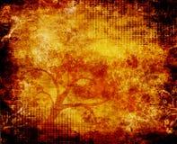 Fundo de Grunge da árvore ilustração stock